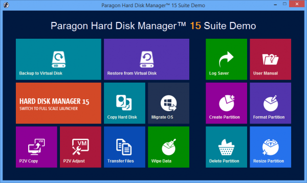 Paragon Hard Disk Manager 15 review