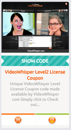 VideoWhisper Review Coupon
