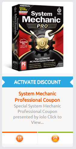 System Mechanic Pro Coupon