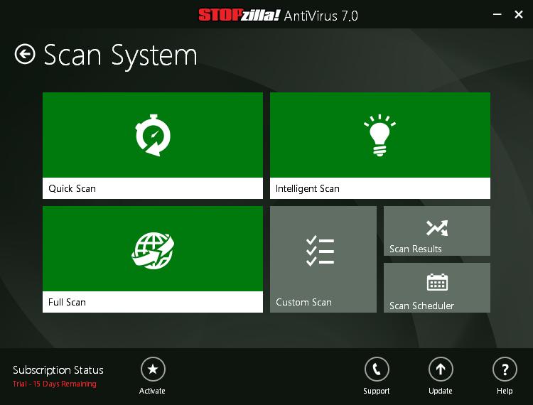 STOPzilla_antivirus_7_system_scan
