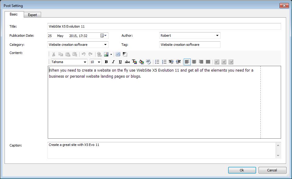Website_X5_Evolution_11_blog_settings