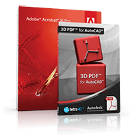 Tetra4D 3D PDF for AutoCAD Suite Coupons