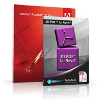 15% OFF – Tetra4D 3D PDF for Revit Suite