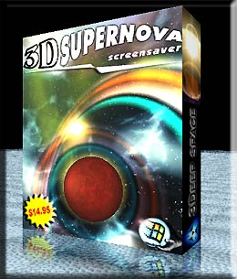 3D Supernova Screensaver Coupon Code – 20%