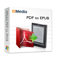 4Media PDF to EPUB Converter Coupon – 40% Off