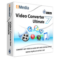 4Media Video Converter Ultimate 7 for Mac Coupon – 40% OFF