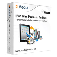 40% OFF 4Media iPad Max Platinum for Mac Coupon
