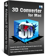 4Videosoft 3D Converter for Mac Coupon