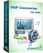 4Videosoft 3GP Converter for Mac Coupons