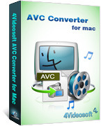 4Videosoft AVC Converter for Mac Coupon