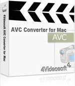 4Videosoft AVC Converter for Mac Coupon Code – 90%