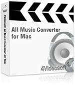 4Videosoft All Music Converter for Mac Coupon Code – 90%