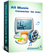 Unique 4Videosoft All Music Converter for Mac Discount