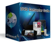 4Videosoft DVD Converter Suite Coupon Code – 90%