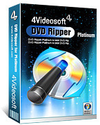 Exclusive 4Videosoft DVD Ripper Platinum Coupon
