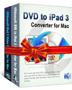 4Videosoft DVD to iPad 3 Suite for Mac Coupon