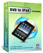 4Videosoft DVD to iPad Converter – Exclusive Discount