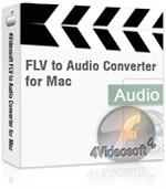 4Videosoft FLV to Audio Converter for Mac Coupon – 90%