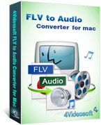 4Videosoft FLV to Audio Converter for Mac Coupon