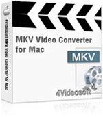 4Videosoft MKV Video Converter for Mac Coupon Code – 90%