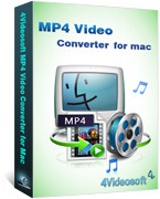 Unique 4Videosoft MP4 Video Converter for Mac Coupon