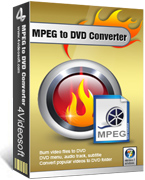 4Videosoft MPEG to DVD Converter Coupon – 90% Off