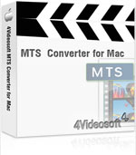 4Videosoft MTS Converter for Mac Coupon – 90%