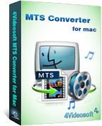Exclusive 4Videosoft MTS Converter for Mac Coupon Discount
