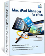 4Videosoft Mac iPad Manager for ePub Coupon Code