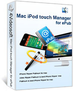 4Videosoft Mac iPod touch Manager for ePub Coupon