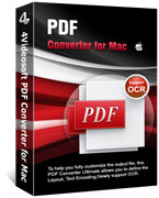 Unique 4Videosoft PDF Converter for Mac Coupon