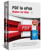 4Videosoft PDF to ePub Maker for Mac Coupon – 90%