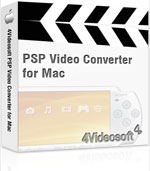 4Videosoft PSP Video Converter for Mac Coupon – 90% OFF