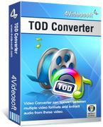 4Videosoft TOD Converter Coupon