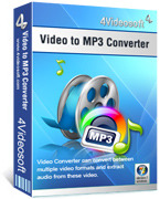 4Videosoft Video to MP3 Converter Coupon