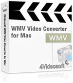 90% 4Videosoft WMV Video Converter for Mac Coupon