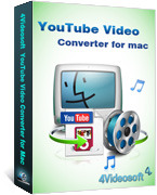 4Videosoft YouTube Video Converter for Mac Coupon