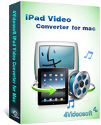 4Videosoft iPad Video Converter for Mac Coupon