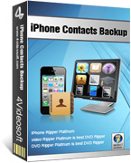 Amazing 4Videosoft iPhone Contacts Backup Discount
