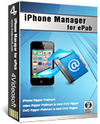 4Videosoft iPhone Manager for ePub Coupon
