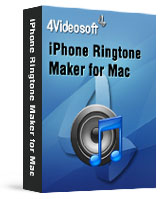90% 4Videosoft iPhone Ringtone Maker for Mac Coupon Code