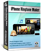 Premium 4Videosoft iPhone Ringtone Maker Discount