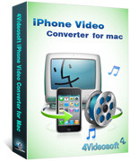 4Videosoft Studio 4Videosoft iPhone Video Converter for Mac Coupon