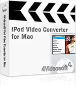 90% 4Videosoft iPod Video Converter for Mac Coupon