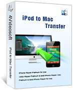 4Videosoft iPod to Mac Transfer Coupon Sale