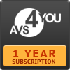 AVS4YOU One Year Subscription Coupon