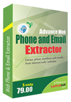 LantechSoft Advance Web Phone and Email Extractor Coupon