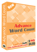 LantechSoft Advance Word Count Coupon Sale