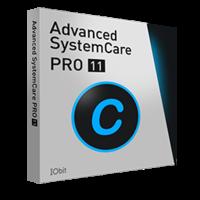 Advanced SystemCare 11 PRO (1 ano/1 PC) + DB+SD – Portuguese – 15% Sale