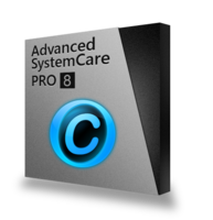 Advanced SystemCare 8 PRO (5 PCs / 1 year subscription) – 15% Off